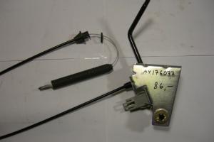 Teränkytkentävaijeri/vipu - AY176077 - Ajoleikkurit