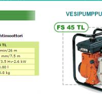 Vesipumppu Oleo-Mac FS 45 TL