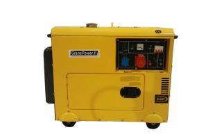 GlansPower JM6700T3 Silent Diesel Kolmivaihegeneraattori